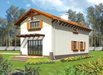 Individualaus namo projektas 'Anzelma'