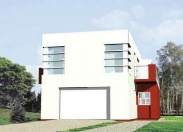 Individualaus namo projektas 'Arnoldas' Modernūs namai