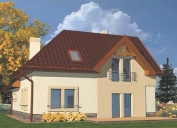Individualaus namo projektas 'Baltenė'