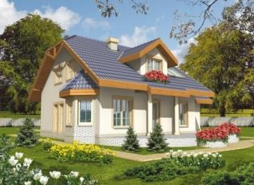 Individual house project 'Banga'