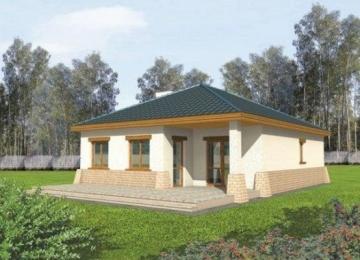 Individualaus namo projektas Berenikė