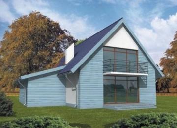 Individualaus namo projektas Bernadeta