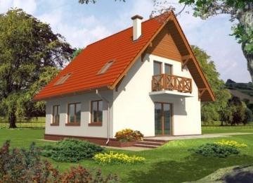 Individualaus namo projektas 'Česlava'