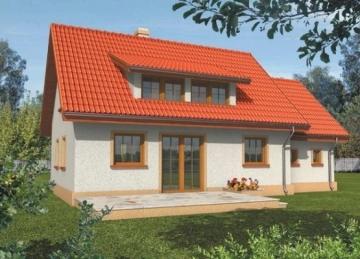Individualaus namo projektas 'Coliukė' Nebrangūs namai