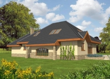 Individual house project 'Daima'