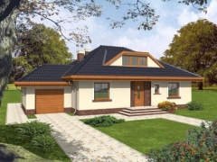 Individual house project 'Daiva'