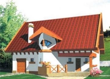 Individualaus namo projektas 'Darija'