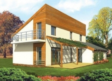 Individualaus namo projektas 'Darmantė'
