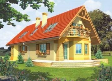 Individualaus namo projektas 'Dina'