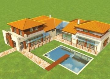Individualaus namo projektas 'Dionizas' Modernūs namai