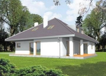 Individualaus namo projektas 'Emerita'