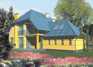 Individualaus namo projektas 'Filomena'