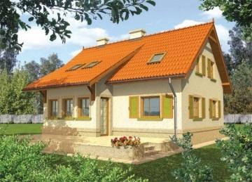 Individualaus namo projektas 'Gabija'
