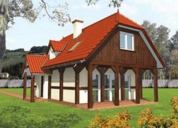 Individualaus namo projektas 'Gėnė'