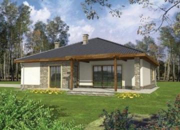 Individual house project 'Genutė'