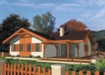 Individual house project 'Gražvyda'