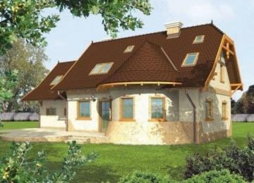 Individual house project 'Greta'