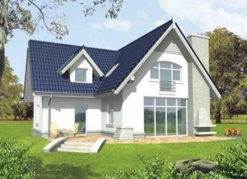 Individual house project 'Halida'