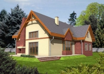 Individual house project 'Helga'