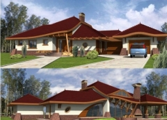 Individual house project 'Henrikas'