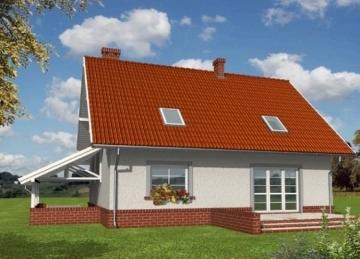 Individualaus namo projektas 'Honorata'