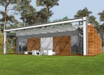 Individualaus namo projektas 'Horacijus' Modernūs namai