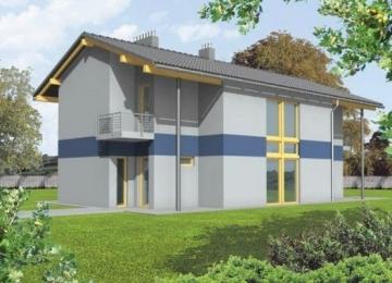 Individualaus namo projektas 'Hortenzija'