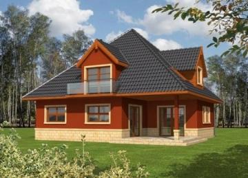 Individual house project 'Ingrida'