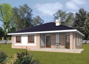 Individualaus namo projektas 'Irma II'