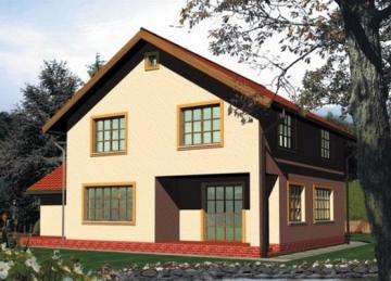 Individual house project 'Izabelė'
