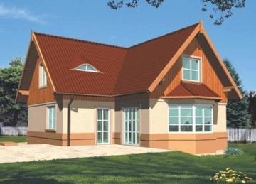 Individual house project 'Jadzė'