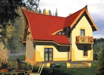 Individual house project 'Jaga'
