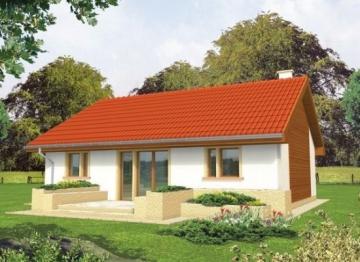 Individualaus namo projektas 'Joachimas' Nebrangūs namai