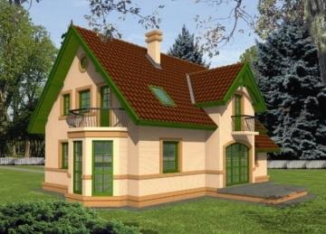 Individual house project Joana