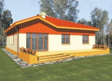 Individualaus namo projektas 'Julė'