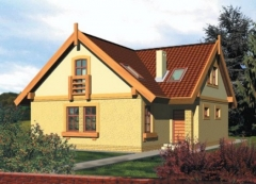 Individual house project 'Kaja'
