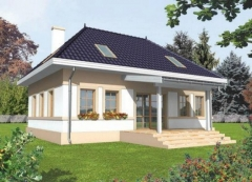 Individual house project 'Kaliksta'