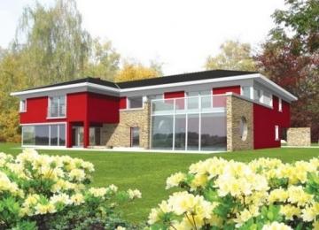 Individualaus namo projektas 'Karlas' Modernūs namai