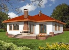 Individual house project 'Karmen'