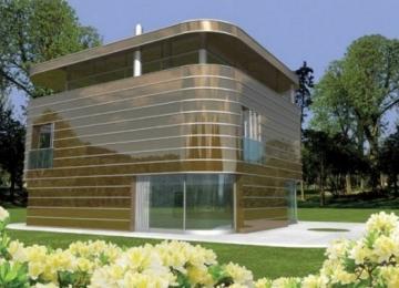 Individualaus namo projektas 'Konradas' Modernūs namai