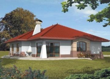 Individualaus namo projektas 'Kornelija' Tradiciniai namai