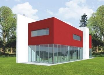 Individualaus namo projektas 'Ksaverijus' Modernūs namai