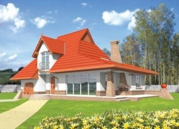 Individualaus namo projektas 'Laima' Tradiciniai namai