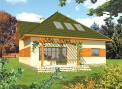 Individual house project 'Lilita'