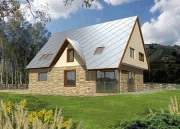 Individual house project 'Liveta'