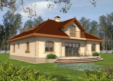 Individualaus namo projektas Maura