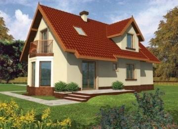 Individualaus namo projektas 'Megi'