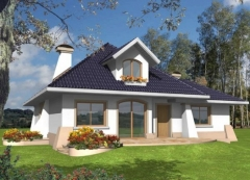 Individual house project 'Milena II'