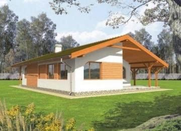 Individualaus namo projektas 'Mileta'