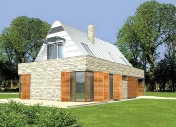 Individualaus namo projektas 'Miretas' Modernūs namai